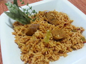Hatch Chile Jambalaya