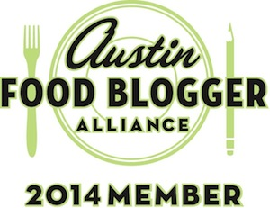 Austin Food Blogger Alliance member since 2013