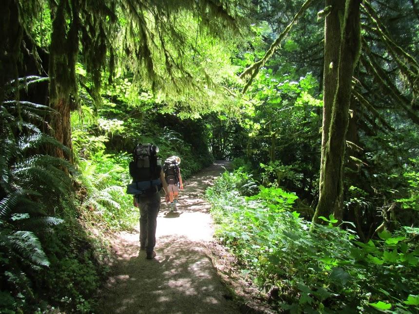 eagle creek trail begins