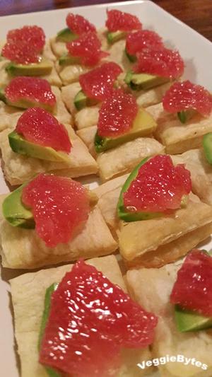 Rio Star Grapefruit Appetizer