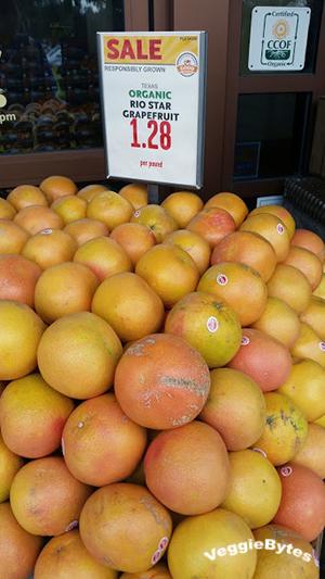 Organic Rio Star Grapefruit