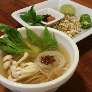 Pho with Homemade Stock