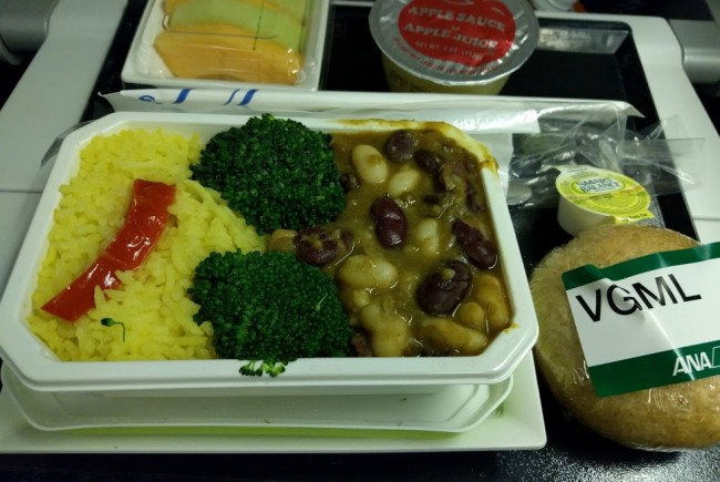 Vegan Meals on All Nippon Airways (ANA)
