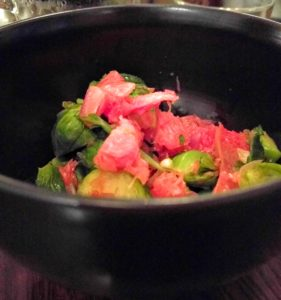 Citizen Eatery - Grapefruit Brussel Sprouts