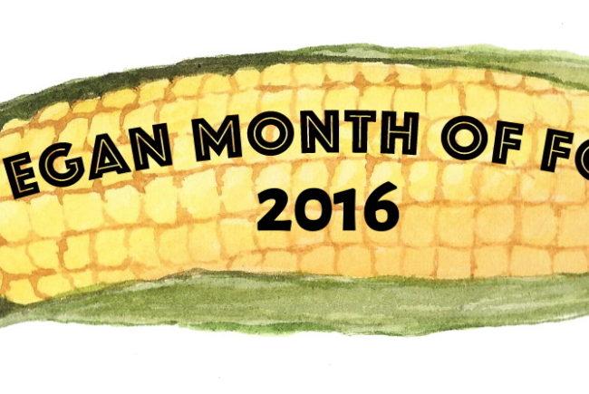 Vegan MoFo 2016