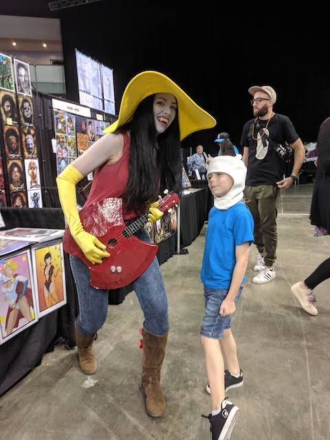 Marceline at Austin Comic Con 2019