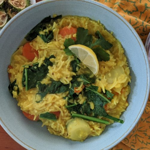 Vegan Instant Pot Kichari