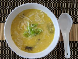 Vegan Chinese Corn Soup